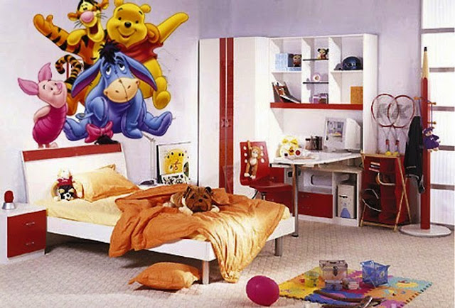 wall painting for children's rooms