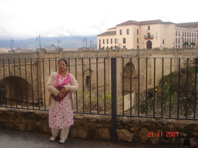 New Bridge at Ronda,Spain