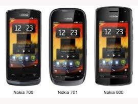 New Nokia Smartphones Nokia 700, Nokia 701 and Nokia 600 performance