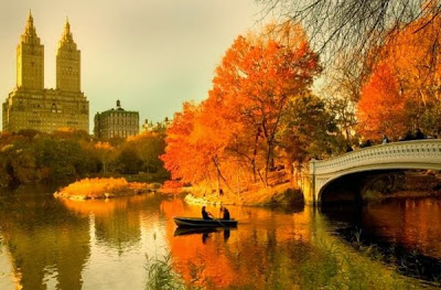 autumnal equinox - central park new york city