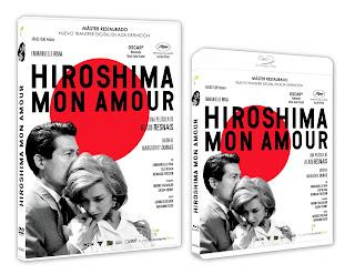 Se edita en BLU-TAY y DVD Hiroshima, Mon Amour