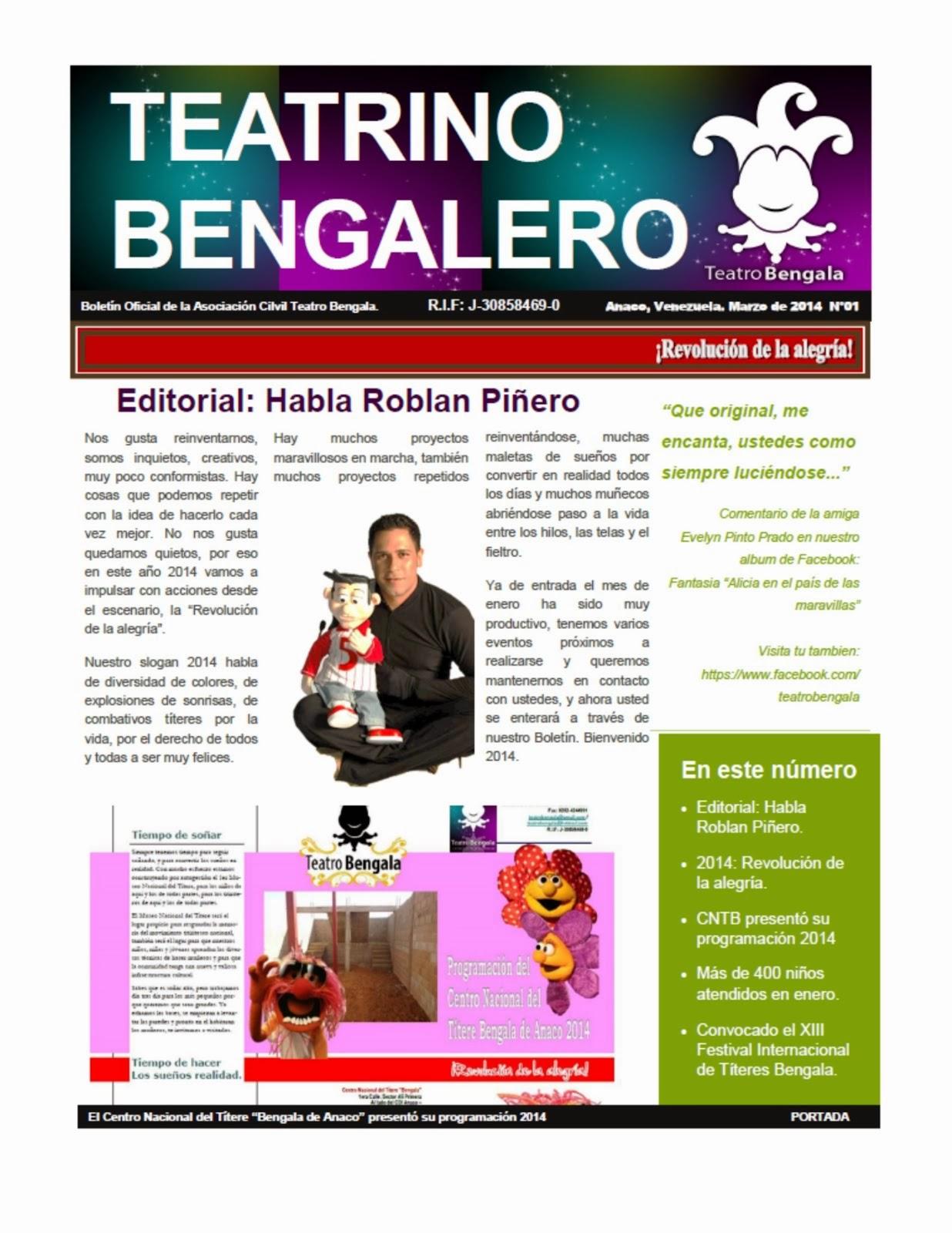 CLIC AQUÍ: Nuestro Boletín