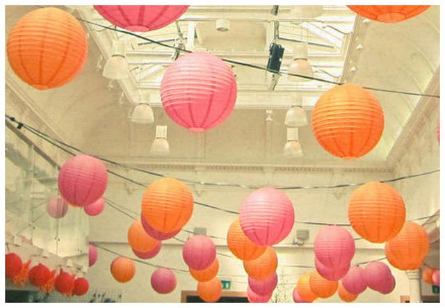 amazing paper lantern wedding decorations