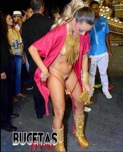 FotosNua.Com Marianne Ranieri Miss Bumbum mostra buceta no carnaval