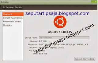 cara mengetahui versi linux ubuntu