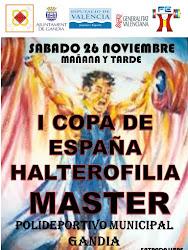 I Copa España Halterofilia Máster