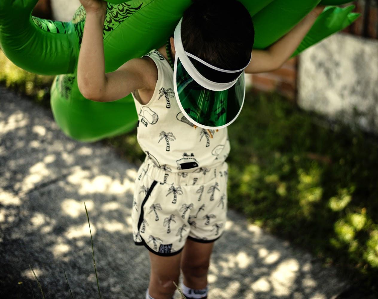 Bandit Kids SS15 preview 'Kingdom of Cool' Palm tree print
