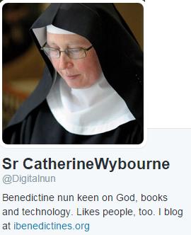 Sister Catherine Wybourne @Digitalnun Twitter