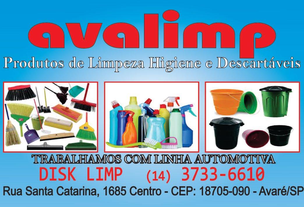 Colaborador - Avalimp Produtos de Limpeza