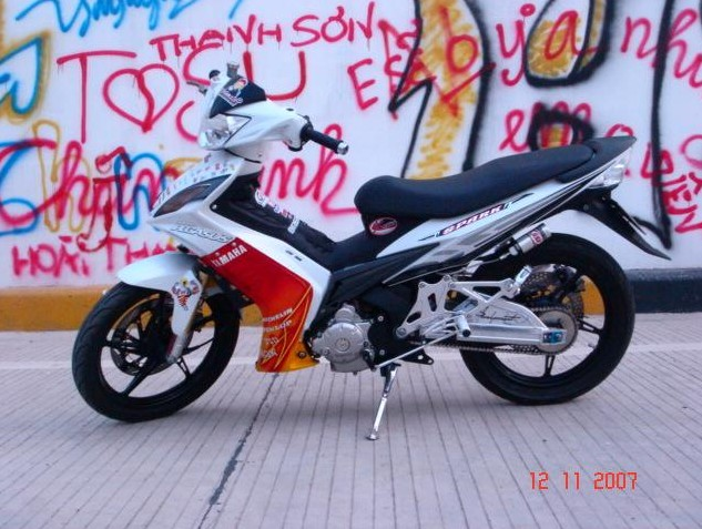 gambar foto modifikasi Yamaha Jupiter MX Cool