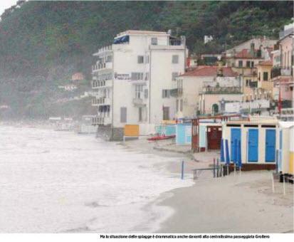 Alassiofutura alassio la mareggiata cancella la for Hotel milano alassio