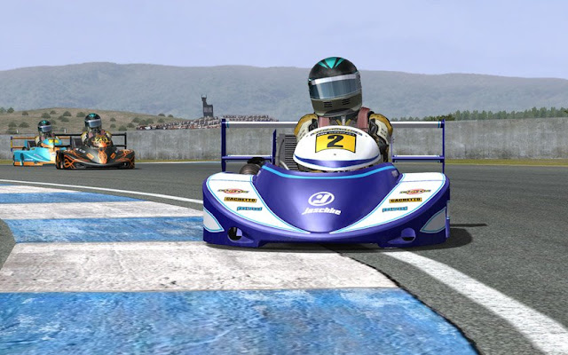 Superkarts rFactor SandroX update