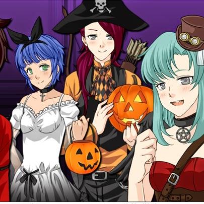 Crie o avatar de mangá com o tema de halloween. Manga Creator: Halloween
