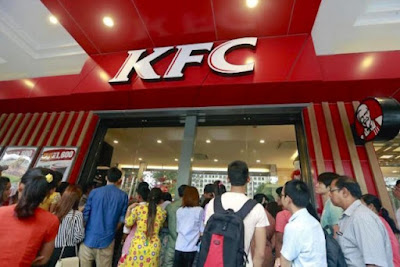 KFC Buka Cawangan Pertama Di Myanmar Dan Sambutan Amat Menggalakkan