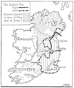 . to take a grip on the Church and on its income. map of ireland the pale