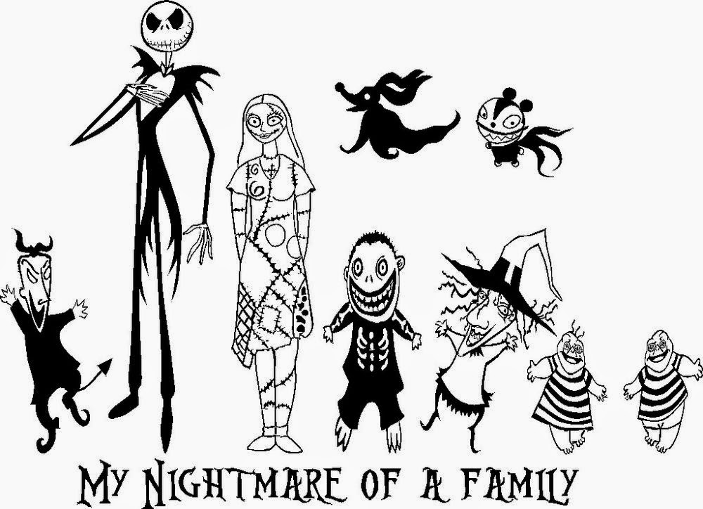 22 Free Disney Printable Color Pages For Kids Nightmare Before Characters Coloring Pages