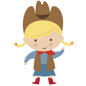 Cowgirl cut file by Miss Kate Cuttables