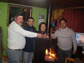 Brindando por la Apicultura de Argentina; Chile y Perú