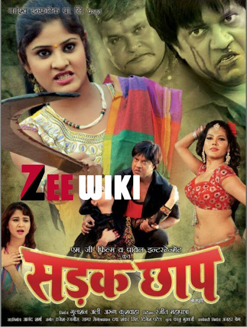 Sadak Chhap Bhojpuri Movie First Look Poster