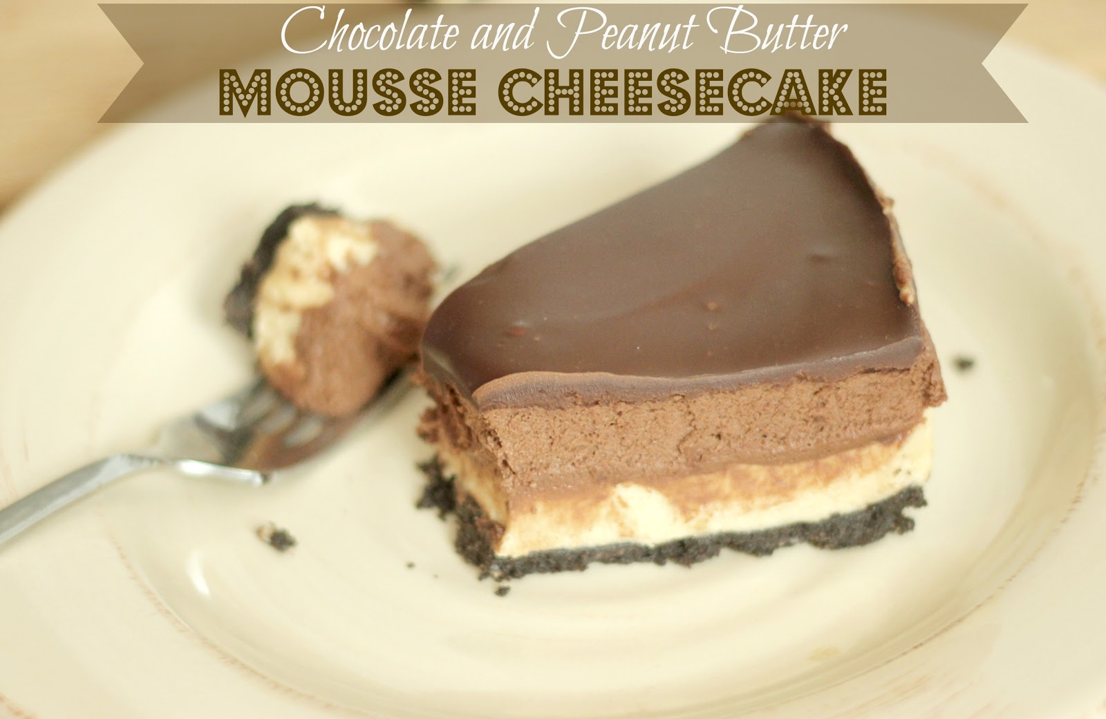 ... Unsophisticated Kitchen: Chocolate & Peanut Butter Mousse Cheesecake