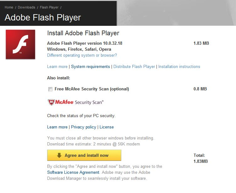 Flash Player 11.2.202.235 (IE) Free Download, FileHippo Flash Player