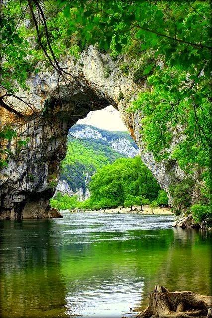 Pont d'Arc, France