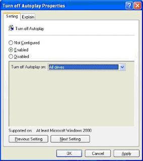 Cara Mudah Cegah  Virus Autorun.inf dari Flashdisk dan CD/DVD ROM