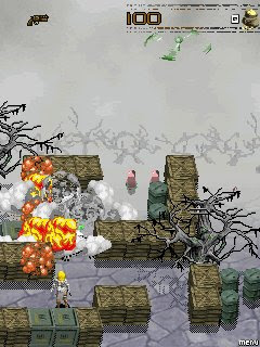 Screenshots of the Avenging Angel for java mobile, phone.