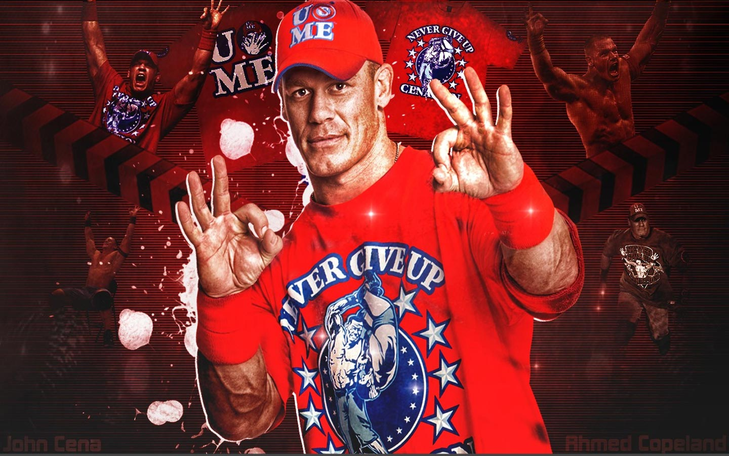 wwe wallpaper 1280x1024 jhone chena - photo #38