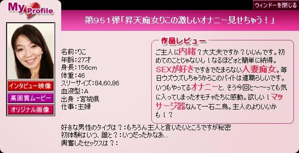 Pacific Girls No.951 Riko 12070