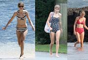 E incluso para ir a la playa, sus bañadores son de estilo retro!