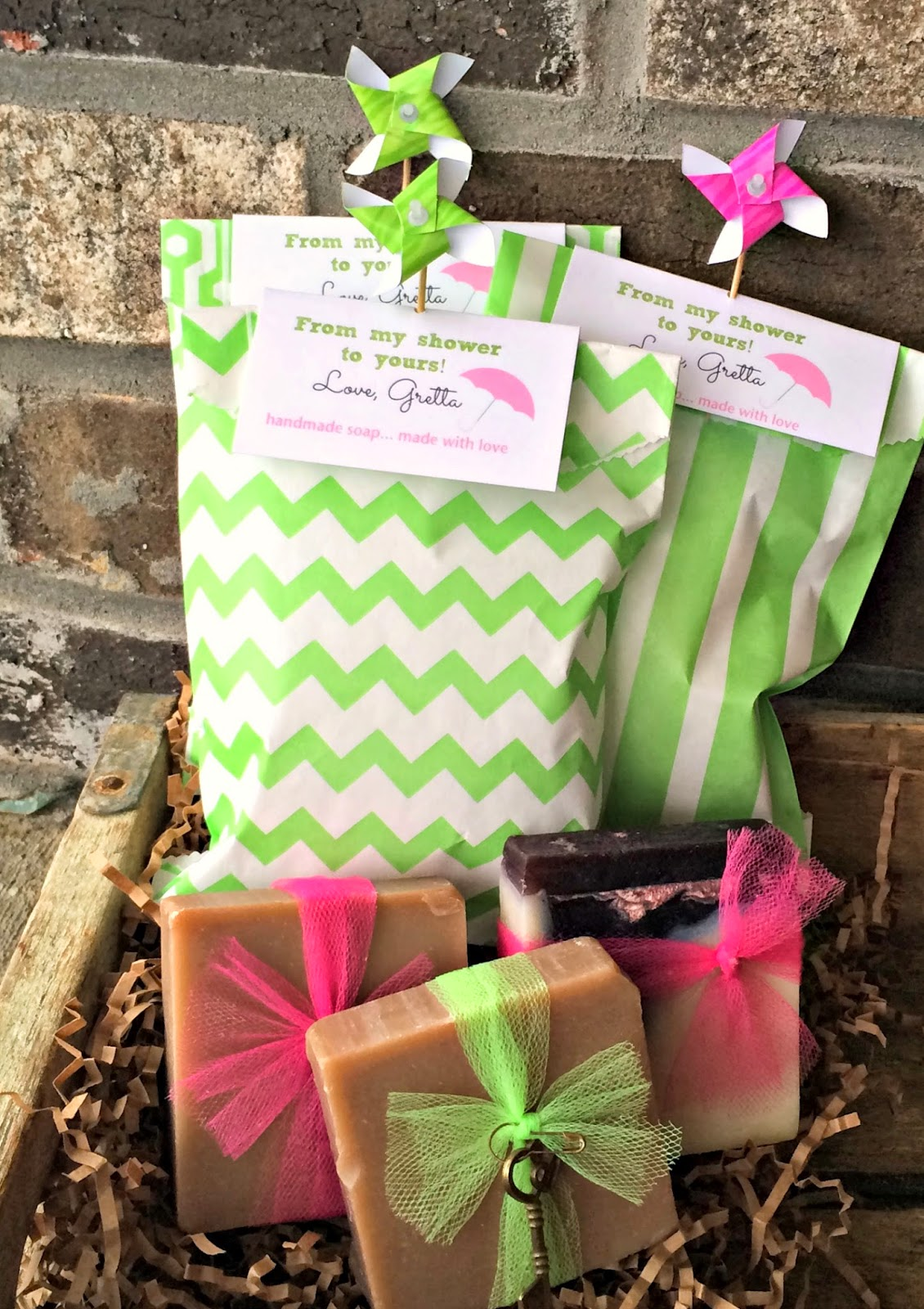Bridal Shower Favor Ideas Sweet Sacks Outside the Box Papers