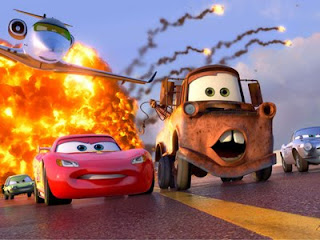 Lightning McQueen and Mater team up again in Cars 2