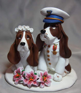 Unique Animals Wedding Cake Toppers