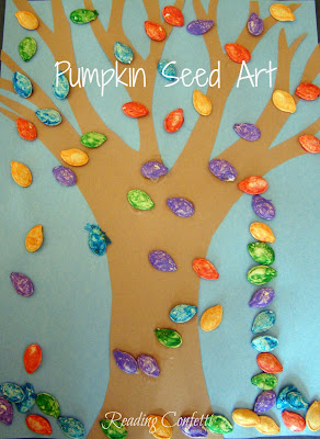 Pumpkin Seed Art