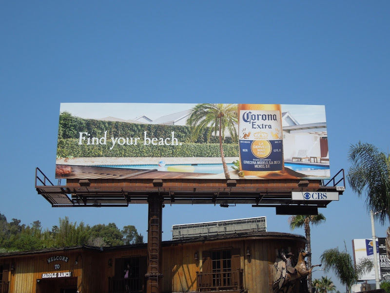 Corona beer billboard