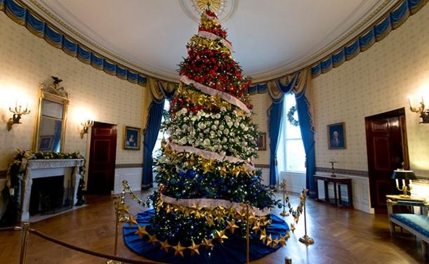 Realitet 360° në Krishtlindje brenda Shtëpisë së Bardhë