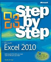 ebook - Microsoft® Excel® 2010 Step by Step