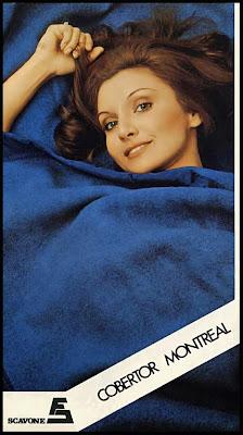 propaganda cobertor Montreal -  Scavone - anos 70. Reclame anos 70