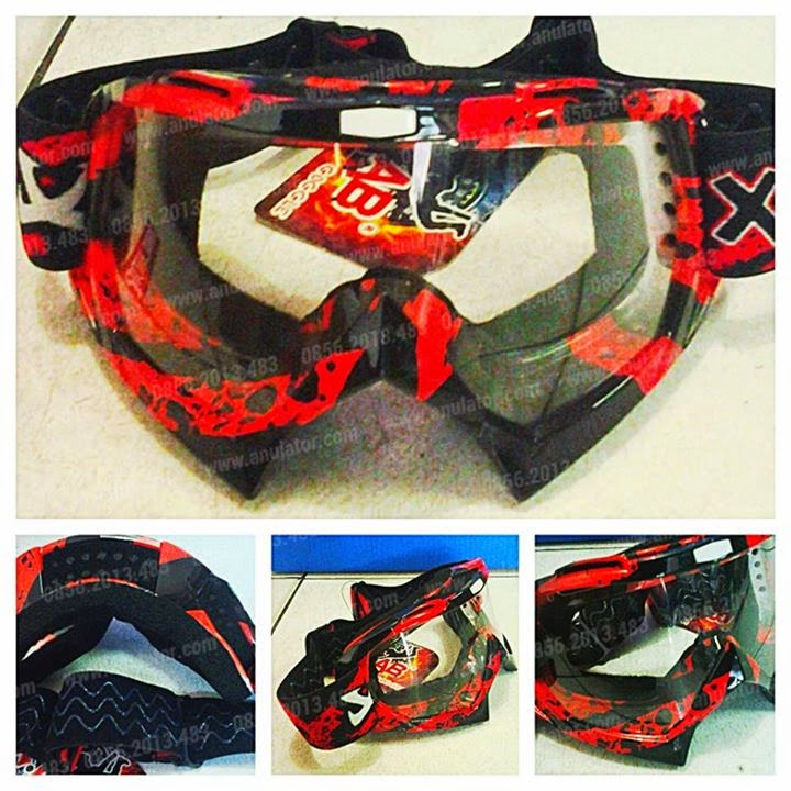 Goggle X-Lab Black Red