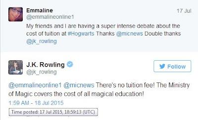 Berapa Biaya Sekolah Hogwarts, Biaya Sekolah Hogwarts, Harry Potter
