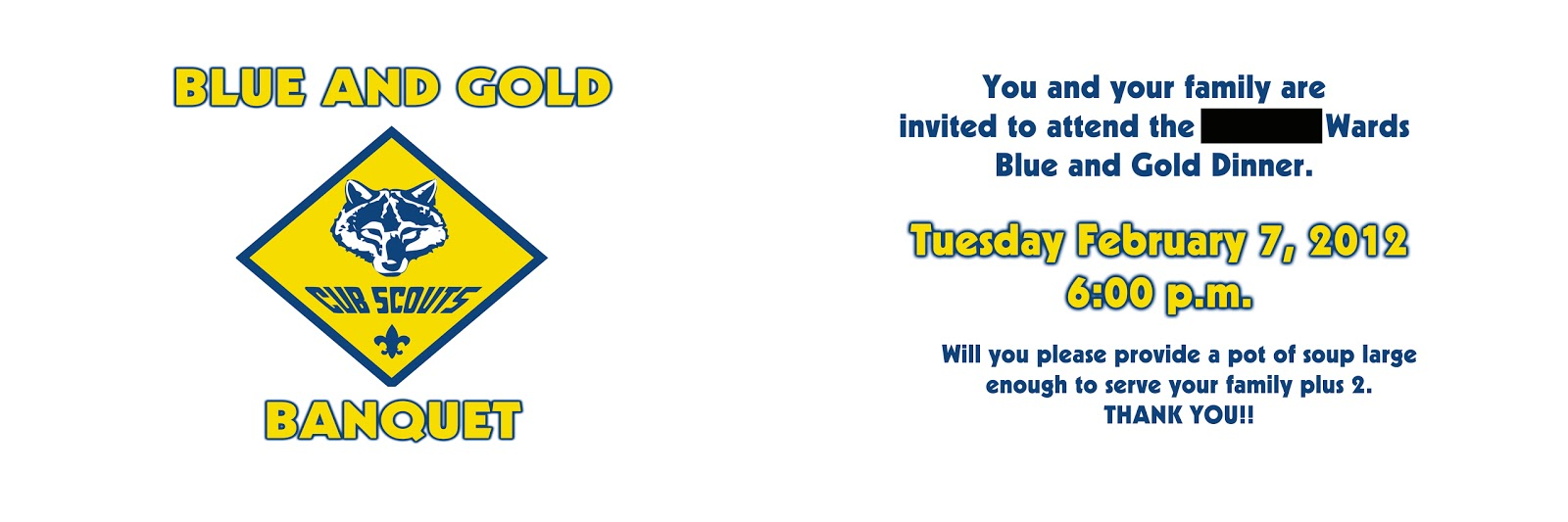 cub scout blue and gold program template - scout invitations utah party invitations ideas