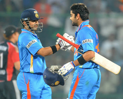 Virat Kohli and Gambhir