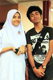 Nasrul Haniff with Sharifah Ain Nabila ♥