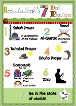 Rasulullah 's 7 Daily Practices