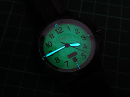 ORIS BLACK GLOW IN THE DARK DIAL - AUTOMATIC