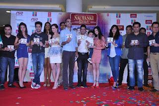 Ayushmann & other celbs at music launch of 'Nautanki Saala'