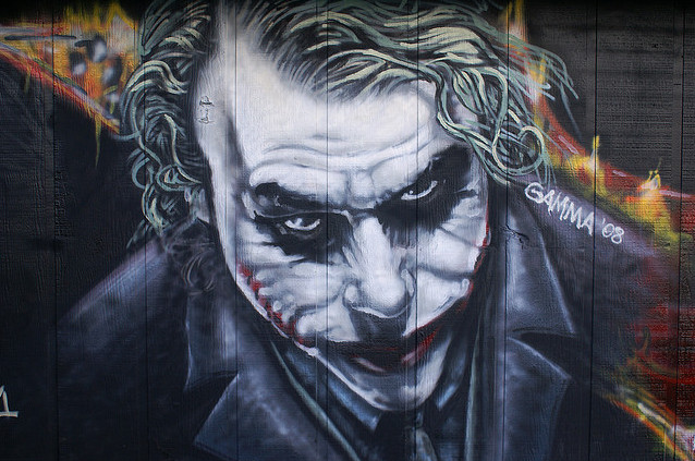 New Graffiti Art Joker Graffiti Characters Graffiti Art Mural