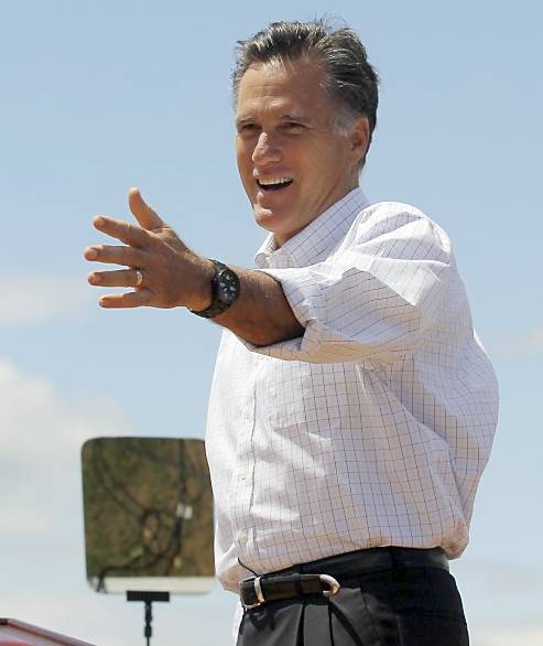 ROMNEY - MITT IS A GRADUATE OF THE ORAL ROBERTS SCHOOL OF PHONY HAND MOTIONS ...