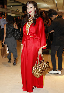 Ayesha Khan New Images Red Dress